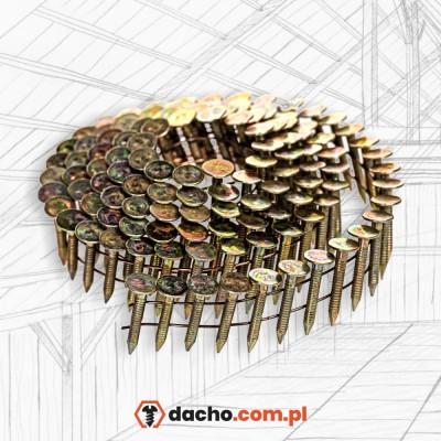 Gwoździe papowe - papiaki 38mm pierścieniowe ocynkowane